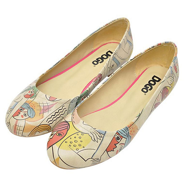 Dogo Life, Shoes, Klassische Ballerinas Cubic Life, Dogo mehrfarbig   abfcf2