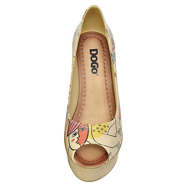 Dogo Shoes,  Plateau-Pumps Cubic Life, mehrfarbig  Shoes,  8f2c86