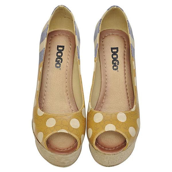 Dogo Shoes, Plateau-Pumps Qualität Stripes and dots, mehrfarbig  Gute Qualität Plateau-Pumps beliebte Schuhe 3f1fdb