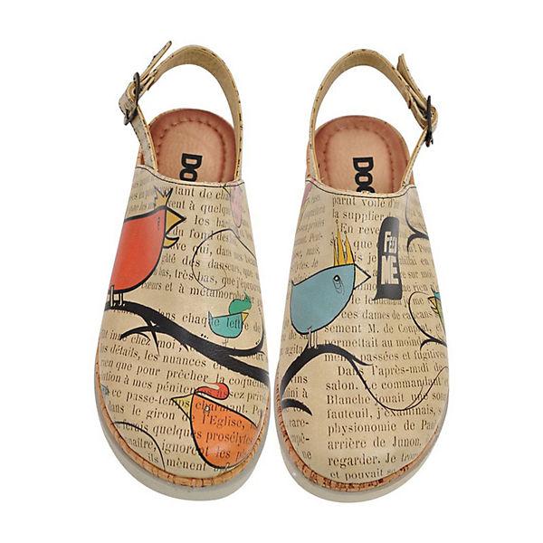 Shoes Dogo bird Sandalen mehrfarbig Komfort Ugly FzUzgw