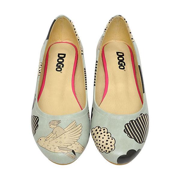 Dogo Shoes, Klassische Ballerinas Above The Qualität Clouds, mehrfarbig  Gute Qualität The beliebte Schuhe df6344
