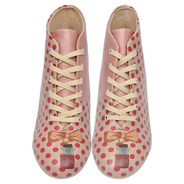 Dogo Shoes, Schnürstiefeletten Love Potion, mehrfarbig Schuhe  Gute Qualität beliebte Schuhe mehrfarbig a3ffa7