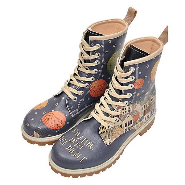 Dogo Shoes, Klassische Stiefel Floating Into the Night, mehrfarbig  Gute Qualität beliebte Schuhe