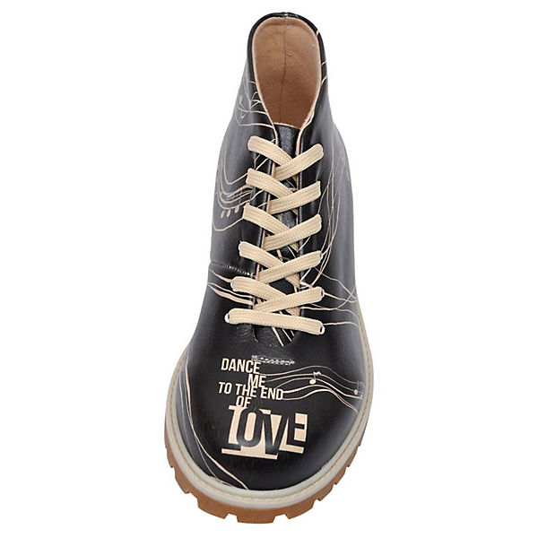 Schnürstiefeletten mehrfarbig Shoes of End With Love Dogo Me Dance HRx54qOq