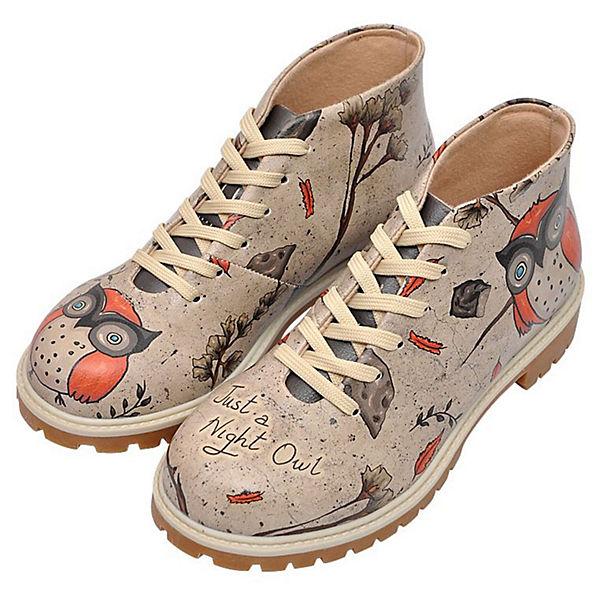 Shoes Dogo Schnürstiefeletten Night mehrfarbig Owl zBBwSdpq