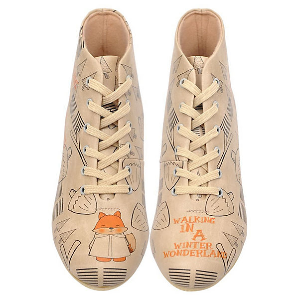 Dogo Shoes, Schnürstiefeletten Walking In a Gute Winter Wonderland, mehrfarbig  Gute a Qualität beliebte Schuhe 89906c