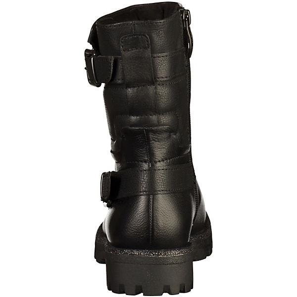 Tamaris, Biker Boots, schwarz beliebte  Gute Qualität beliebte schwarz Schuhe 097ad8