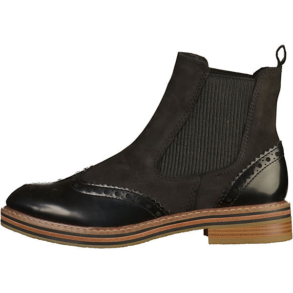 MARCO TOZZI, Chelsea Boots, schwarz