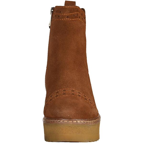 MARCO TOZZI Plateau-Stiefeletten beliebte cognac  Gute Qualität beliebte Plateau-Stiefeletten Schuhe 8eed59