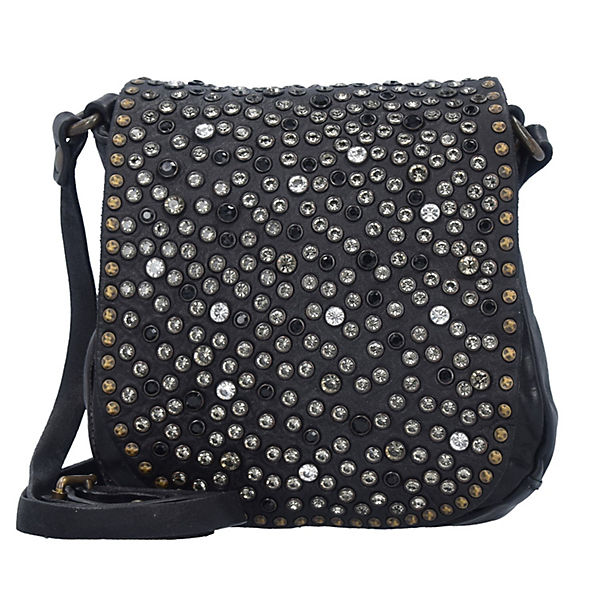 Campomaggi Traditional Mini Bag Umhängetaschen schwarz