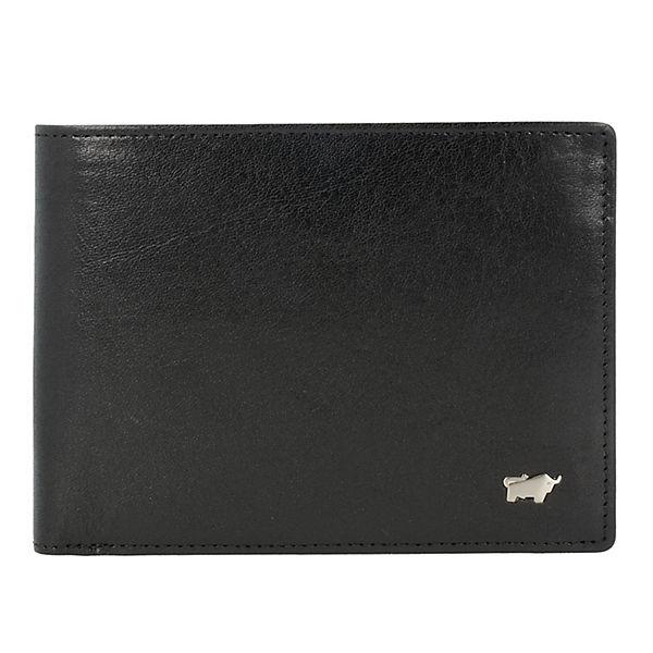 Braun Büffel Country Secure Portemonnaies schwarz