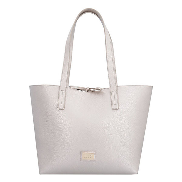 LIU JO Orizz Narc Shopper silber