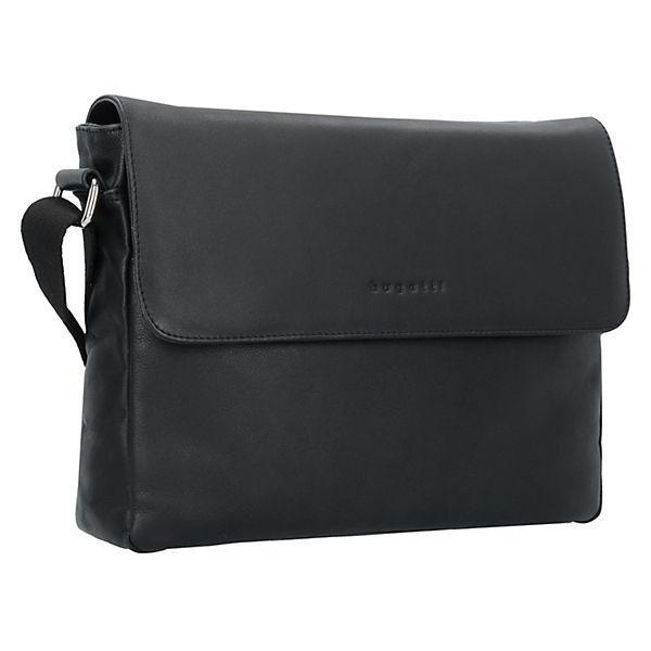 bugatti Segno Messenger Laptoptaschen schwarz