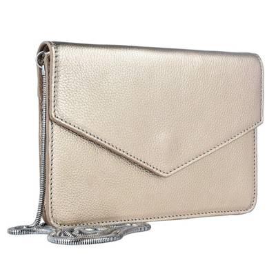 ESPRIT Handtasche Vera Clutch Tasche 20 cm beige ...