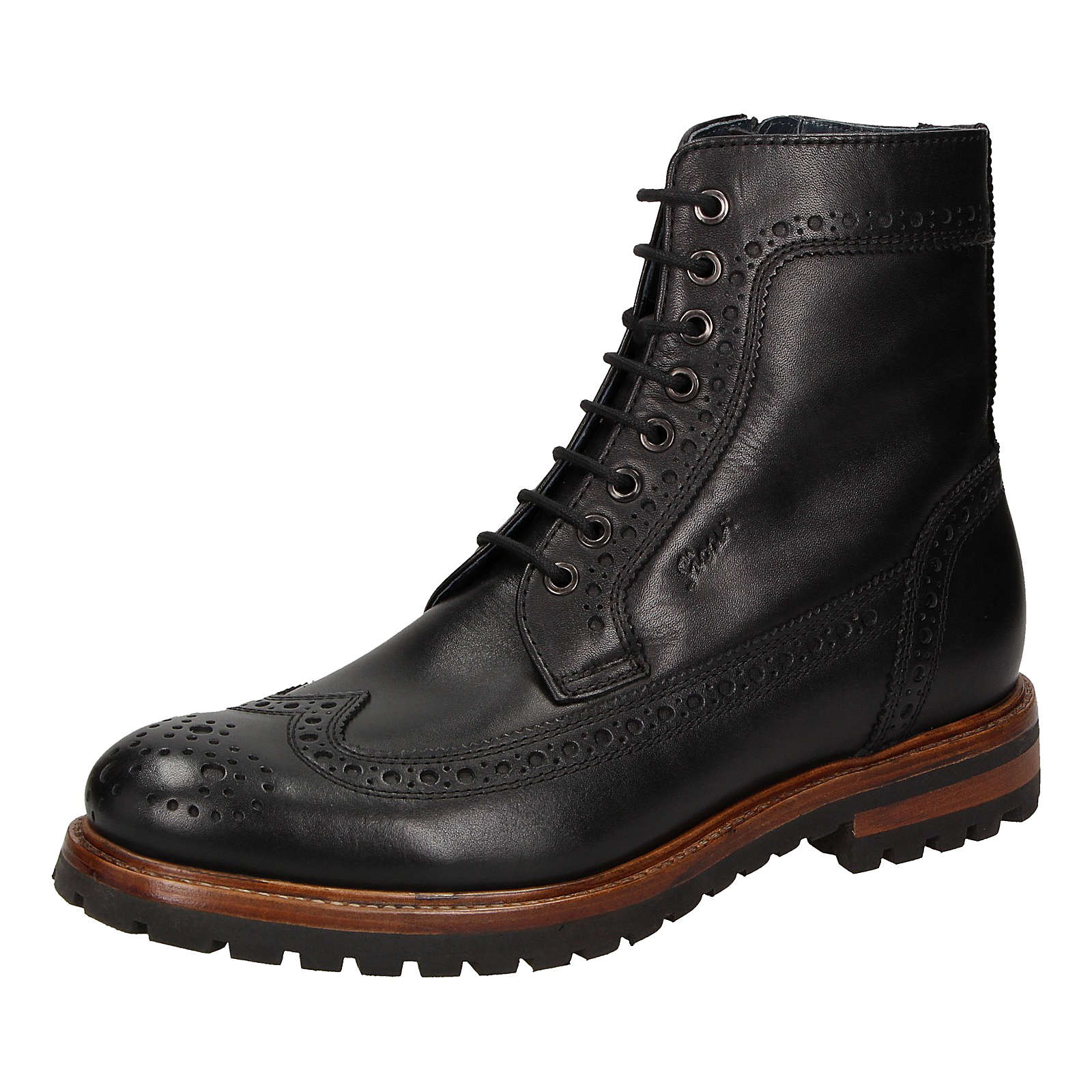 Sioux Klassische Stiefel Endreso schwarz Herren Gr. 46
