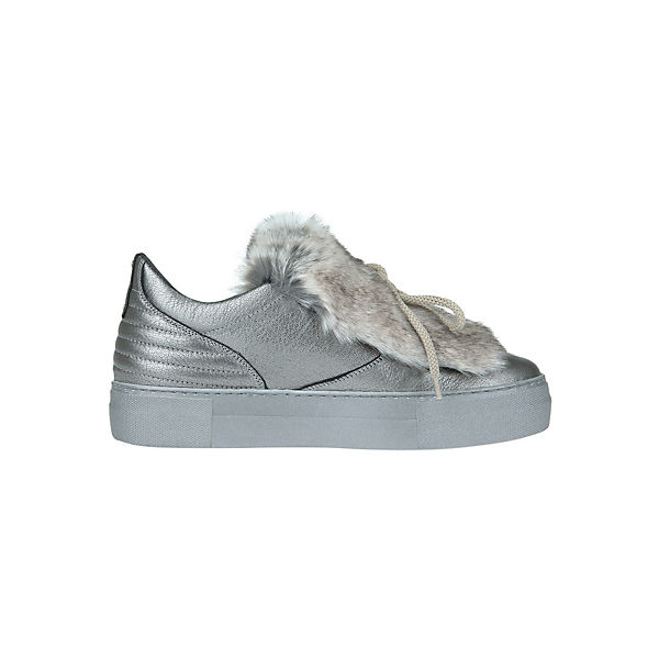 Low Carolina Donna POMPEI Sneakers silber xPqYwSnT8B
