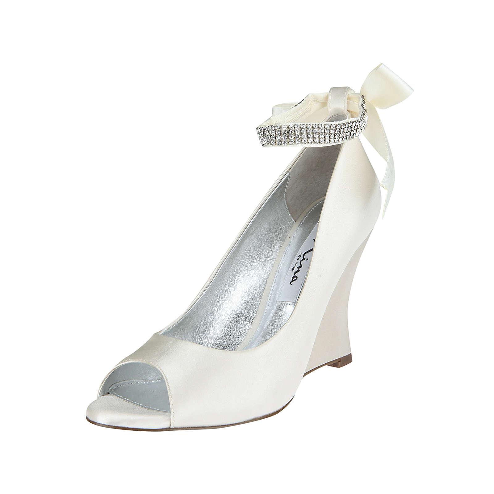 c796d8c2cb6263 Nina Shoes Keilpumps EMMA Keilpumps creme Damen · Tamaris ...
