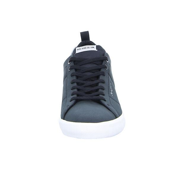Jeans Low Pepe Camu Sneakers Marton schwarz dO8W841