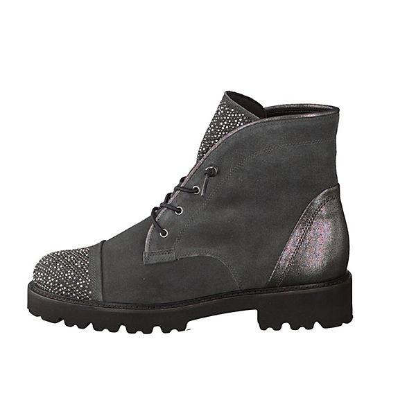 Gabor Schnürstiefeletten grau  Gute Qualität beliebte Schuhe
