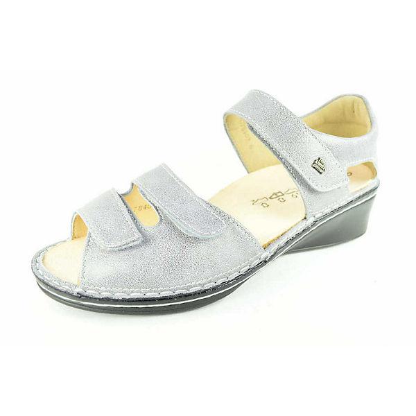 Finn Comfort Klassische Sandaletten grau