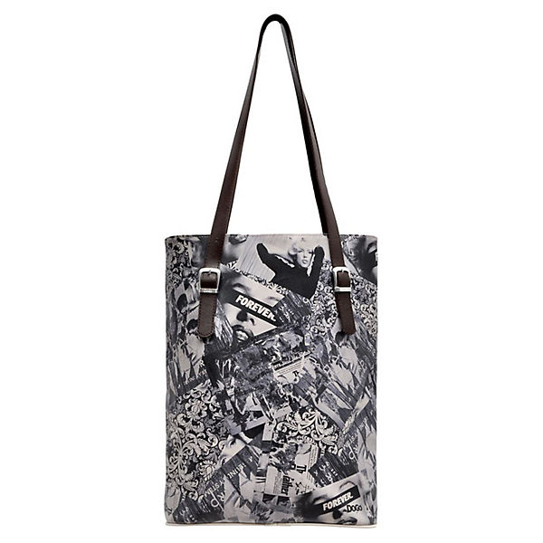 Dogo Shoes Umhängetasche Tall Bag Forever bunt