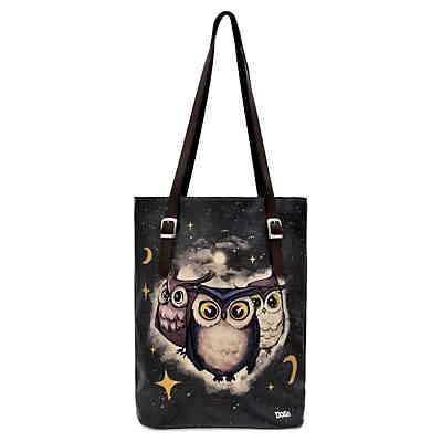 Umhängetasche Tall Bag Owls Family