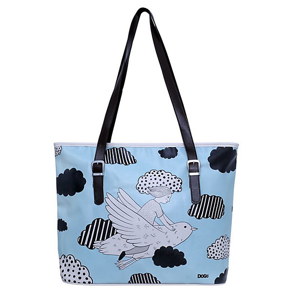 Dogo Shoes Umhängetasche Fitbag Above The Clouds bunt