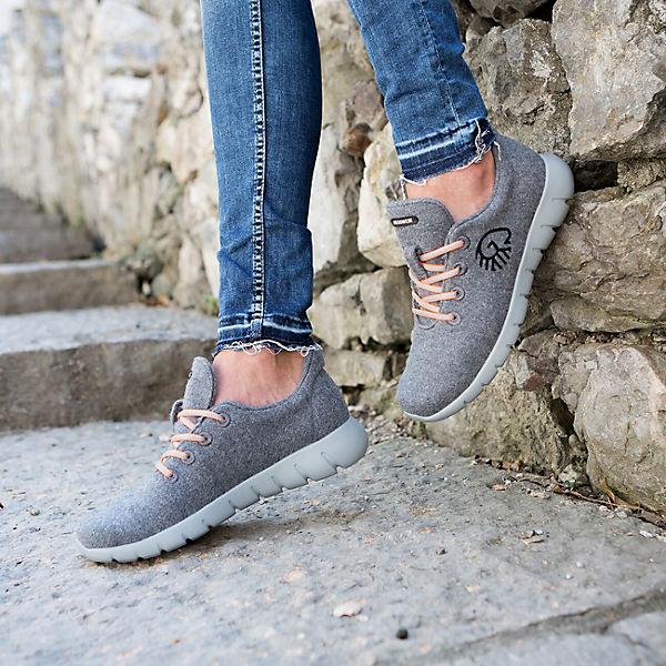 Giesswein Giesswein Sneakers Merino Runners WOMEN grau