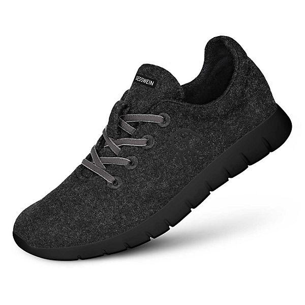 e008c8a58e70 Giesswein, Giesswein Sneakers Merino Runners MEN, anthrazit   mirapodo