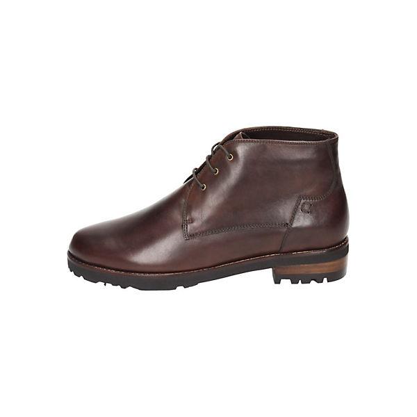 Everybody, Schnürstiefeletten, braun  Gute Qualität beliebte Schuhe