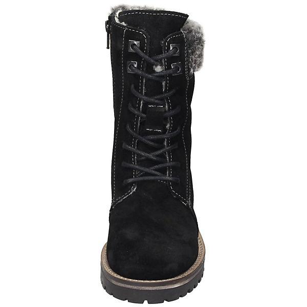 Tamaris Schnürstiefel beliebte schwarz  Gute Qualität beliebte Schnürstiefel Schuhe 99df01