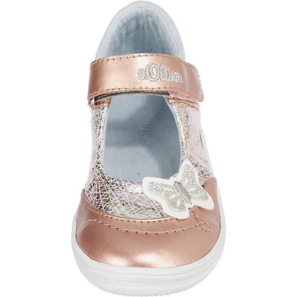 s.Oliver Kinder Ballerinas rosegold