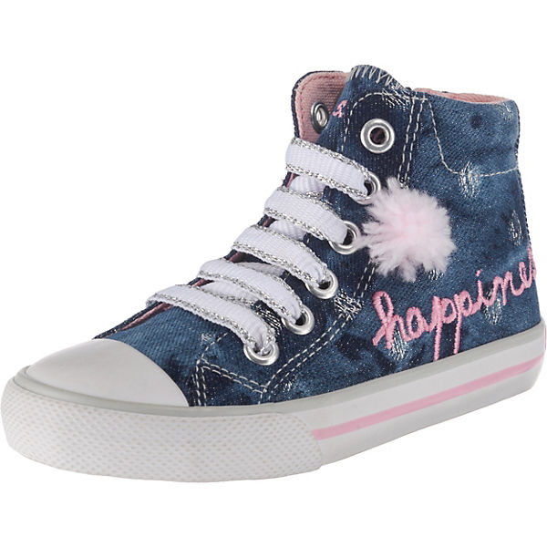 bdcfe5b78664 s.Oliver, Sneakers High für Mädchen, blau   mirapodo