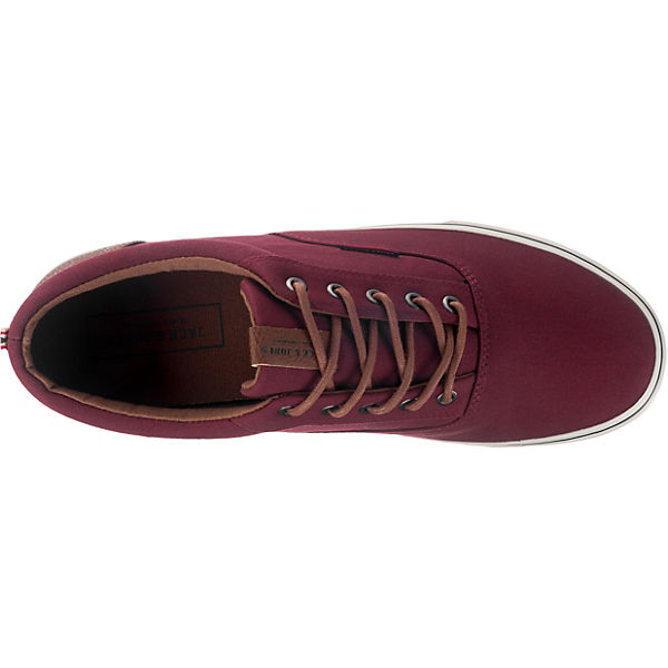 JACK & JONES, JFW Vision Mixed Turnschuhes Niedrig, Schuhe dunkelrot Gute Qualität beliebte Schuhe Niedrig, 5f3be8