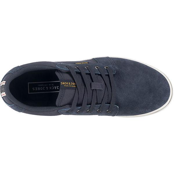 JACK & JONES, JFW Dandy Nubuck  Sneakers Low, dunkelblau   Nubuck d1f13f