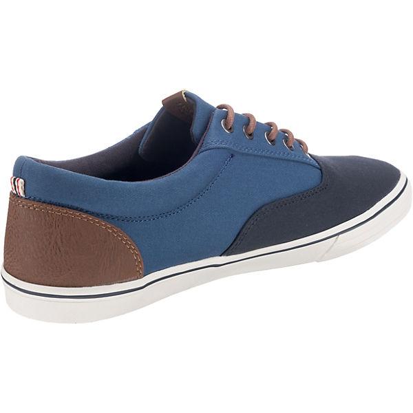 JACK & JONES JFW Vision Block Sneakers Low dunkelblau