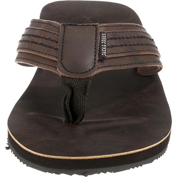 Leather JACK Sandale JFW Bob khaki Zehentrenner amp; JONES 7wwOq4g