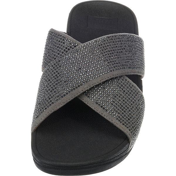 RITZY SLIDE Komfort Sandalen anthrazit FitFlop 4qTUaxnwa
