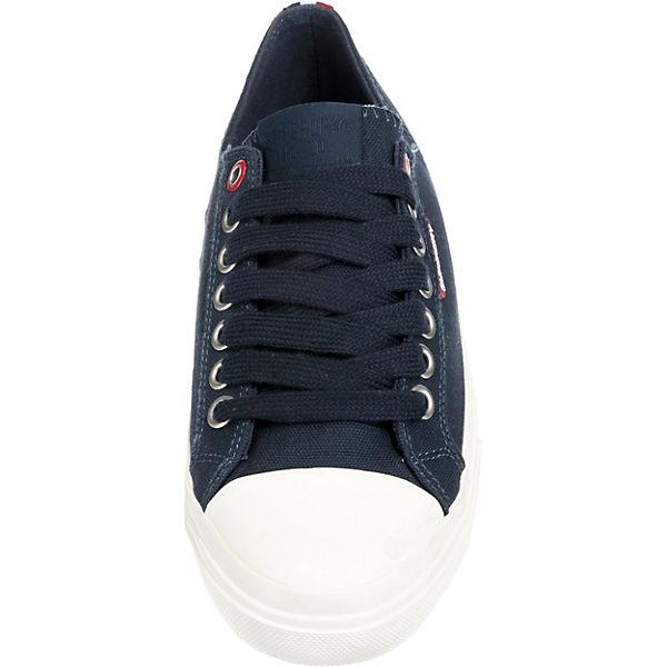 Superdry kombi Sneakers SNEAKER Low LOW blau PRO r7W0rvR