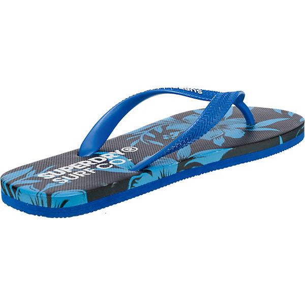 Zehentrenner SUPER Superdry FLOP AOP SLEEK blau FLIP HTx1q6wxX
