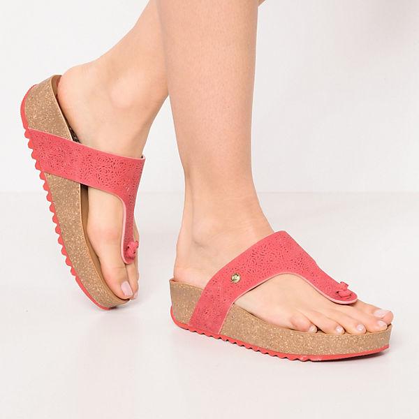 PANAMA JACK Quinoa Roses B1 Zehentrenner rot rot rot  Gute Qualität beliebte Schuhe fd9562