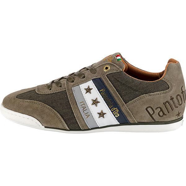 Pantofola d'Oro, IMOLA dunkelgrün CANVAS UOMO LOW Sneakers Low, dunkelgrün IMOLA   16a970
