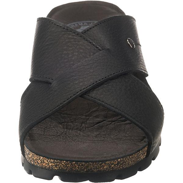 PANAMA JACK,  Salman C4 Pantoletten, schwarz  JACK,  d51ea4