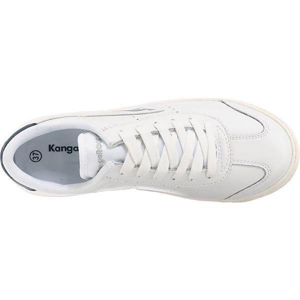 KangaROOS weiß Low Sneakers KangaROOS Chako Chako FYPqw5Op