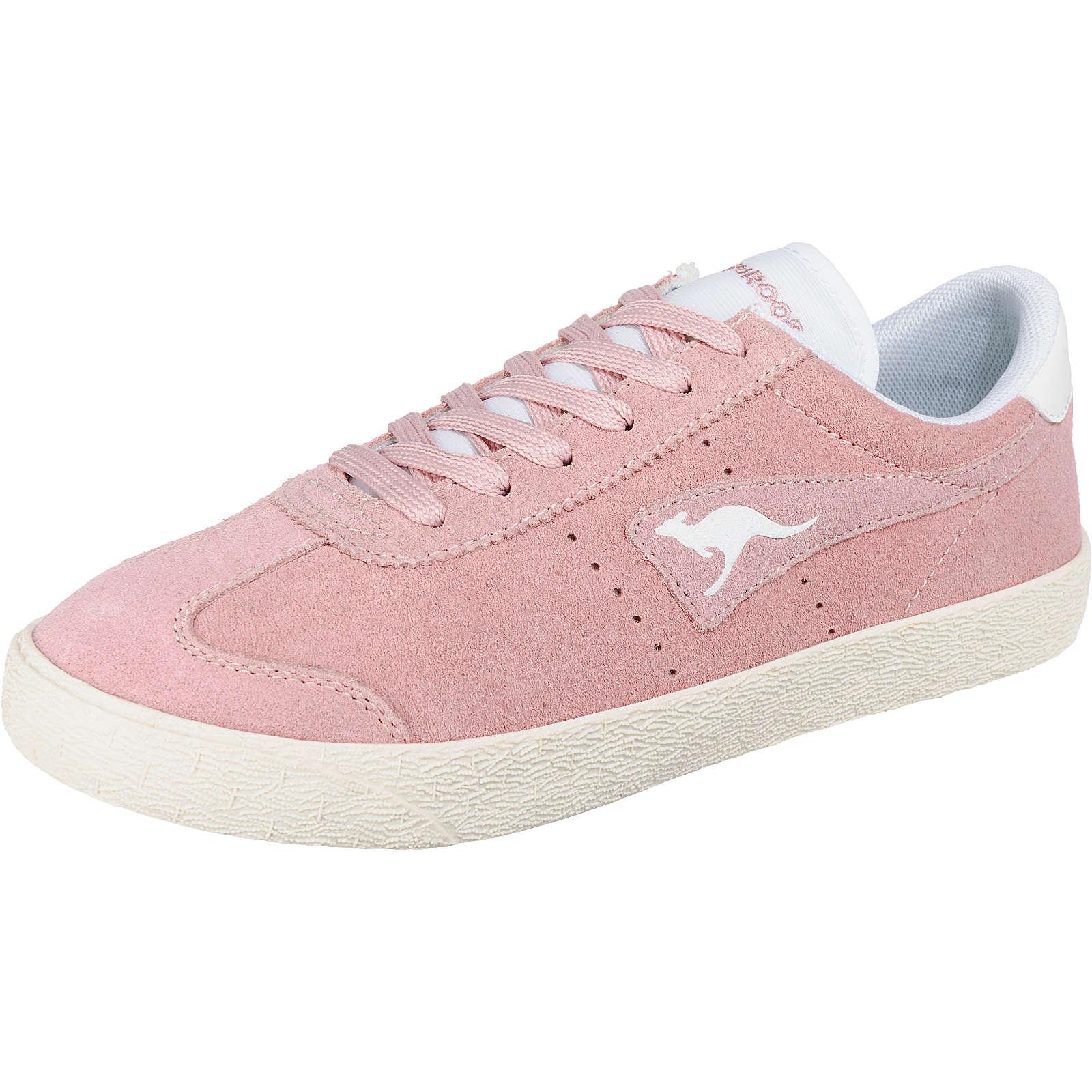 KangaROOS Chako Sneakers Low rosa/natur Damen Gr. 36