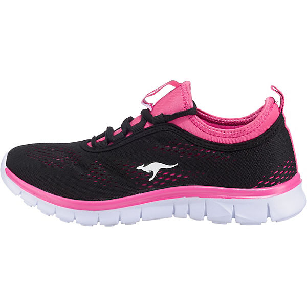 schwarz KangaROOS pink K Sneakers Low Run Neo xrwrqH7X