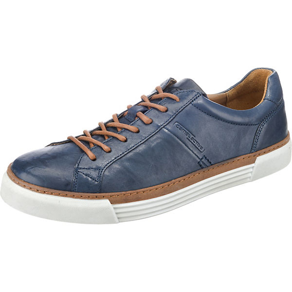 17 blau Sneakers camel active Racket Low XZqWpvEw