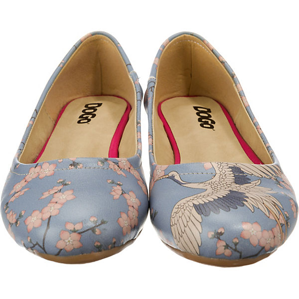 Dogo Shoes mehrfarbig Blossom Ballerinas Klassische B8BqPwxr