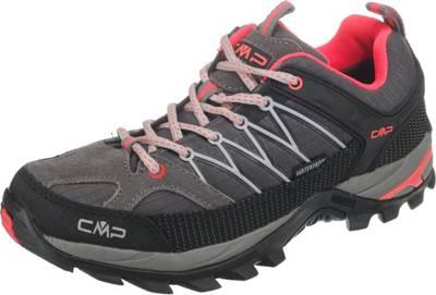 CMP »Rigel Low« Wanderschuh, grau, grau-pink