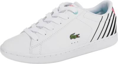Lacoste Mädchen Sneaker, Weiß - Weiß - Größe: 23 EU Kind